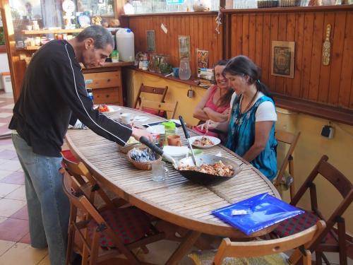 Jídelna na verandě